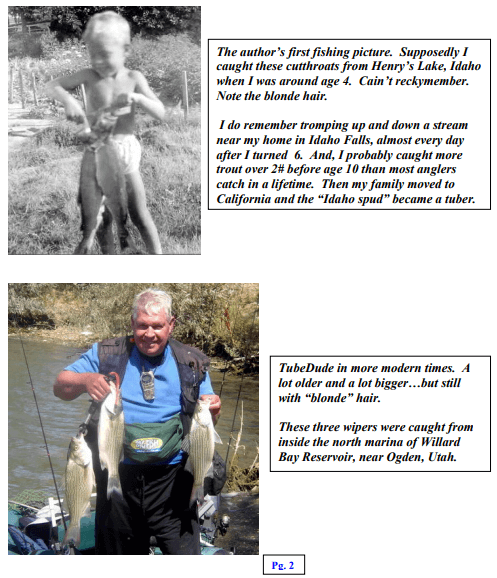 float tube fishing history