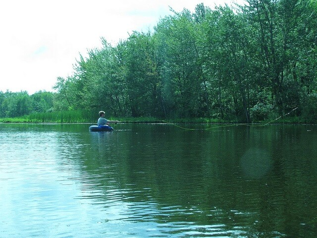 Float Tube Fishing