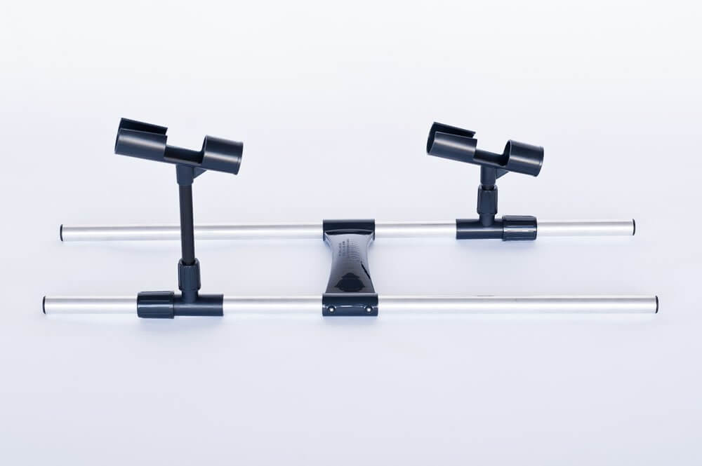 Float tube fly rod holders for Fly fishing rod holder